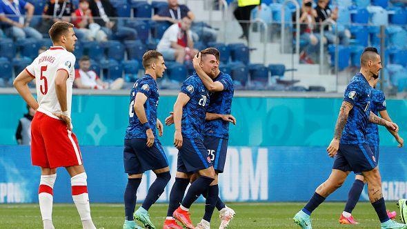 46' Полша - Словакия 1:1