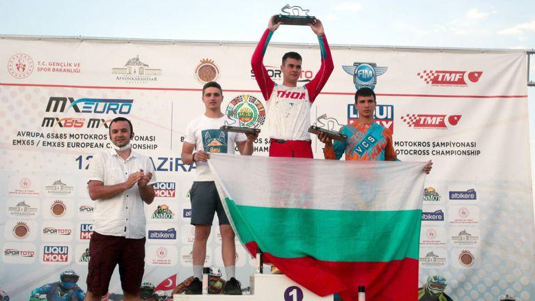 Българските състезатели обраха медалите в 3-ия кръг на BMU European Motocross Championship в Турция