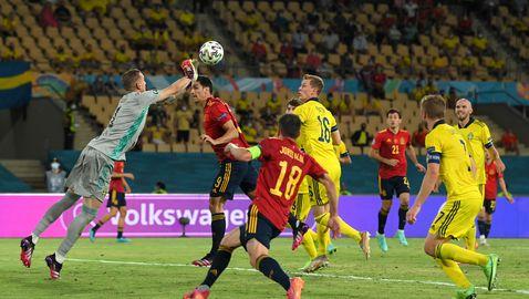 Испания стъпи накриво срещу Швеция