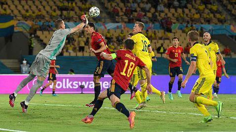 Великолепен Олсен шокира Испания на старта, Швеция с нулево реми като гост