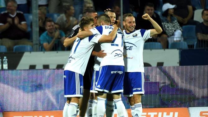 В Полша се скъсаха да хвалят Алекс Колев след брилянтен гол срещу Висла