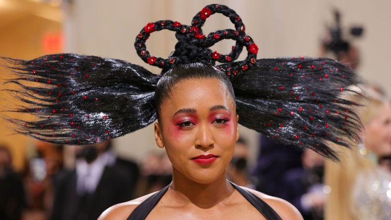 Вижте какво облече Наоми Осака за най-голямото модно събитие на годината