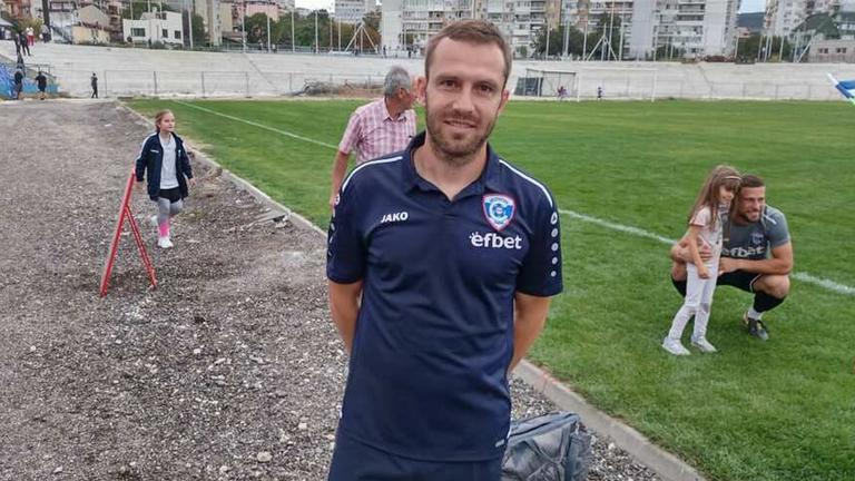 Треньорът на Спартак (Варна) обяви голямата цел