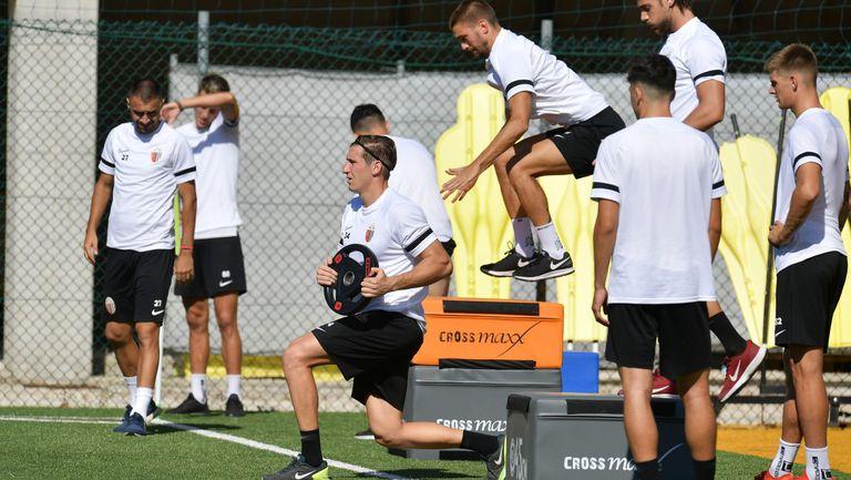 Атанас Илиев направи първа тренировка с Асколи
