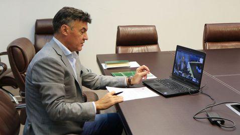 Михайлов обсъди с другите европейски шефове Суперлигата и идеята за Мондиал през две години