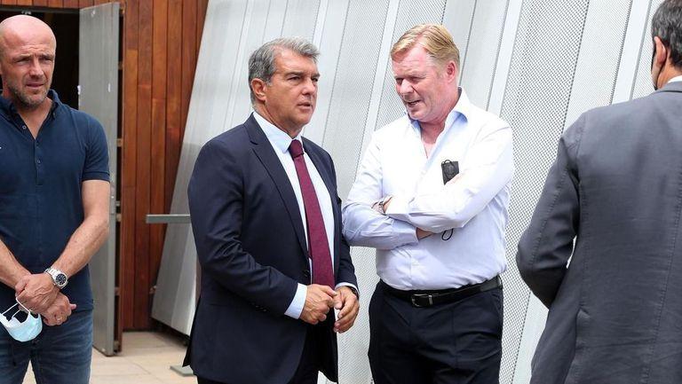 Лапорта обеща да не уволнява Куман при загуба от Байерн
