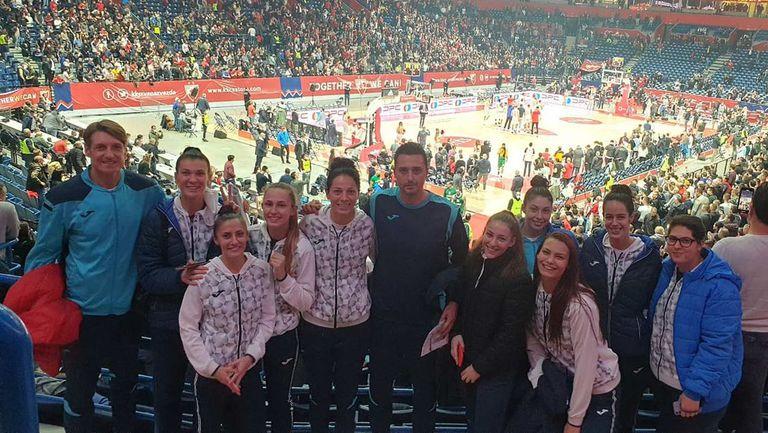 Баскетболистките на Монтана бяха наградени за успеха над Партизан