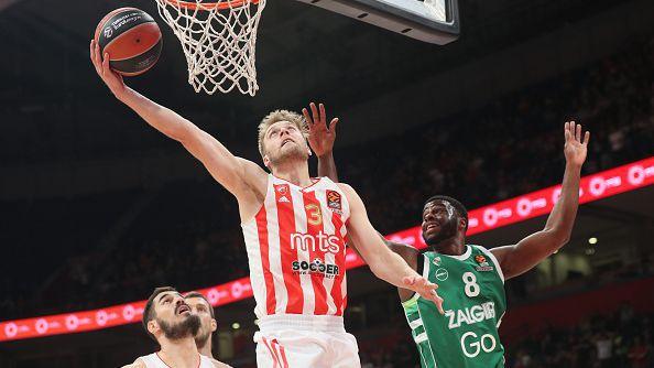 Цървена звезда се справи с Жалгирис пред 8000 зрители в Белград