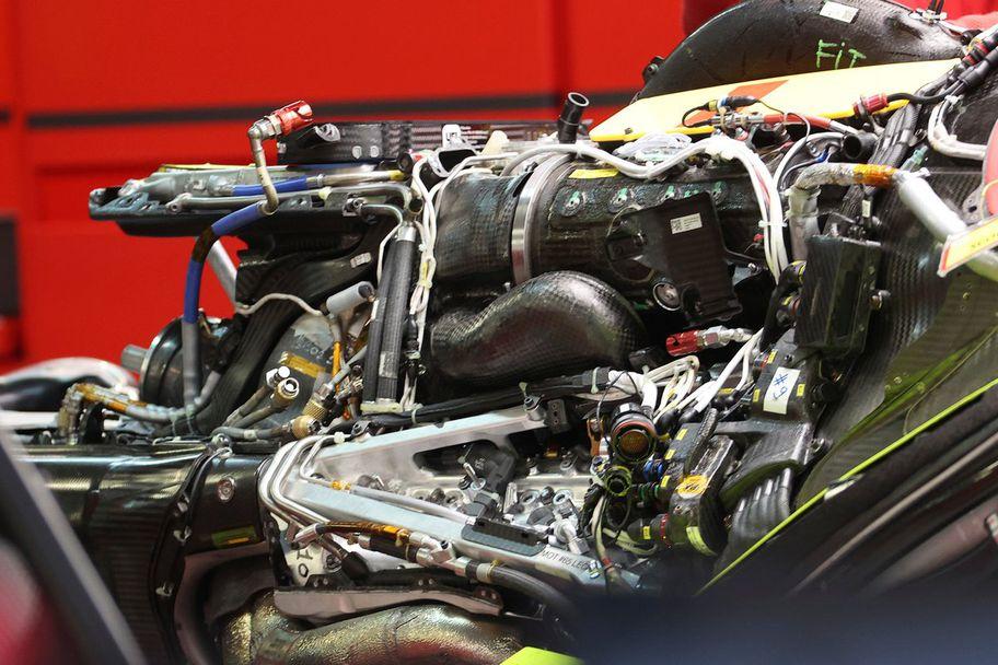 Ферари Формула 1 Двигател