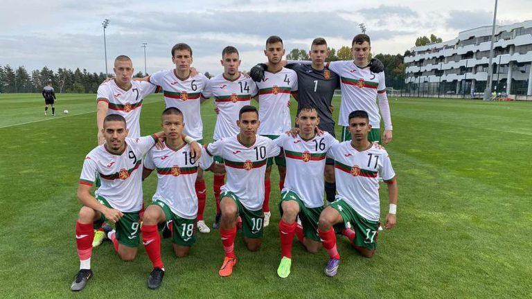 България U17 не срещна трудности с Кипър