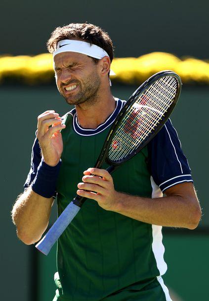 Фантастичен Григор Димитров е на полуфинал в Индиън Уелс