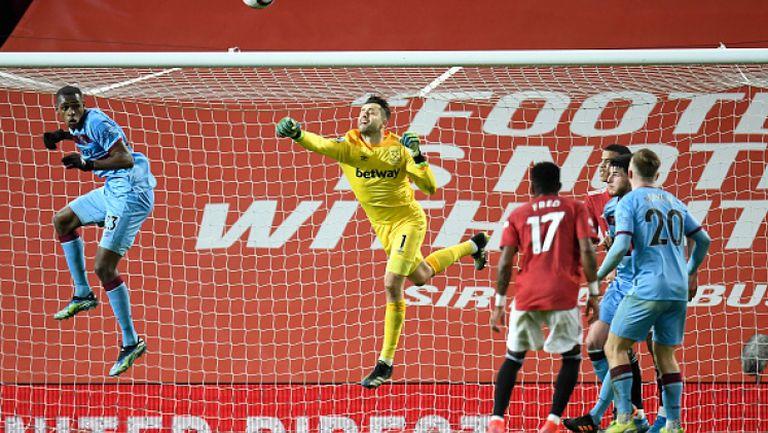 Манчестър Юнайтед - Уест Хам 1:0