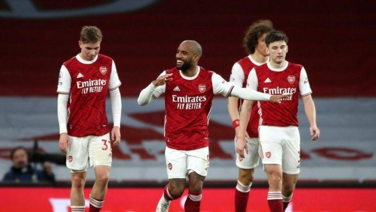 Голът на сезона не стигна на Тотнъм дори за точка в дербито с Арсенал (видео)