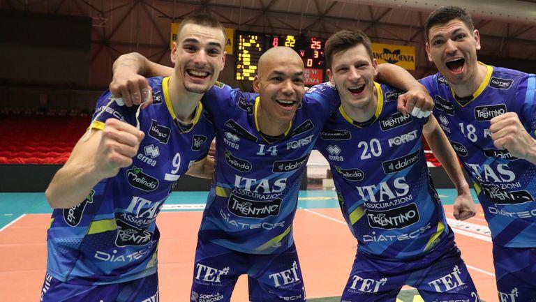 Тренто е първият полуфиналист в Италия! Нимир Абдел-Азиз заби 28 точки за успех над Пиаченца