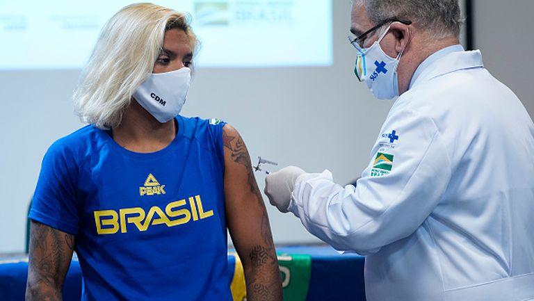 Бразилия ваксинира олимпийците си