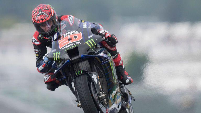 Куартараро с 2-ри пореден полпозишън за домашната си надпревара в MotoGP