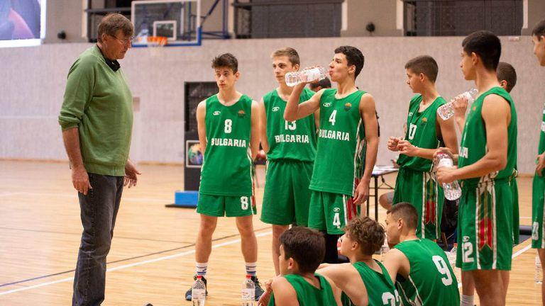 """""""Лъвчетата"""" продължават доминацията си във FIBA U15 Skills Challenge"""