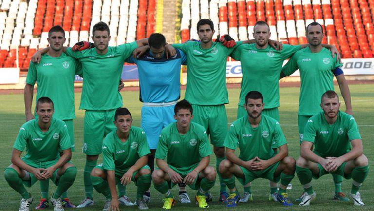 Вихрен започна подготовка с 18 футболисти, гони място в шестицата