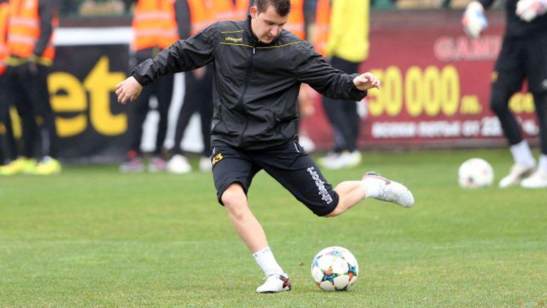 Тодор Неделев с първа тренировка