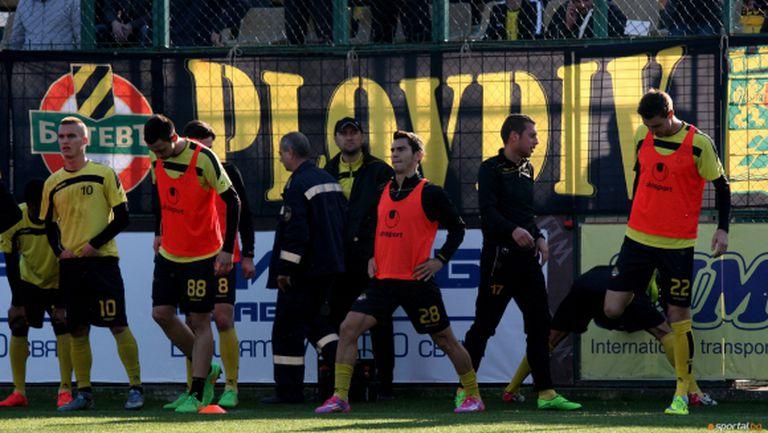 Ботев (Пловдив) наказа втория отбор на ЦСКА-София