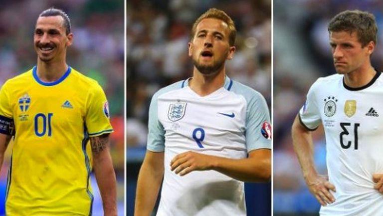 Кои звезди се провалиха на Евро 2016?