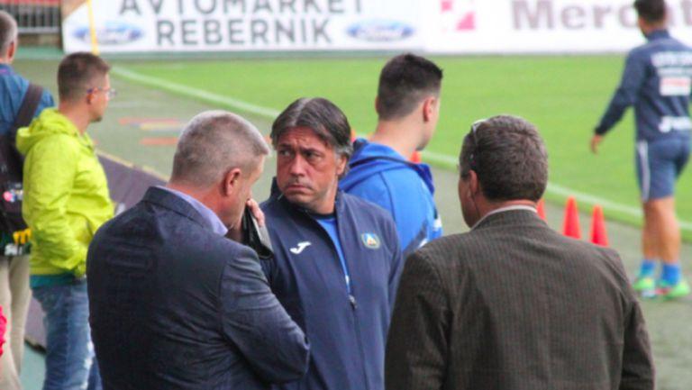 Собствениците на Левски следят тима изкъсо в Словения