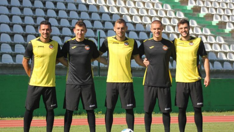 Ботев (Пд) победи с 4:0 Верея при представянето на отбора си