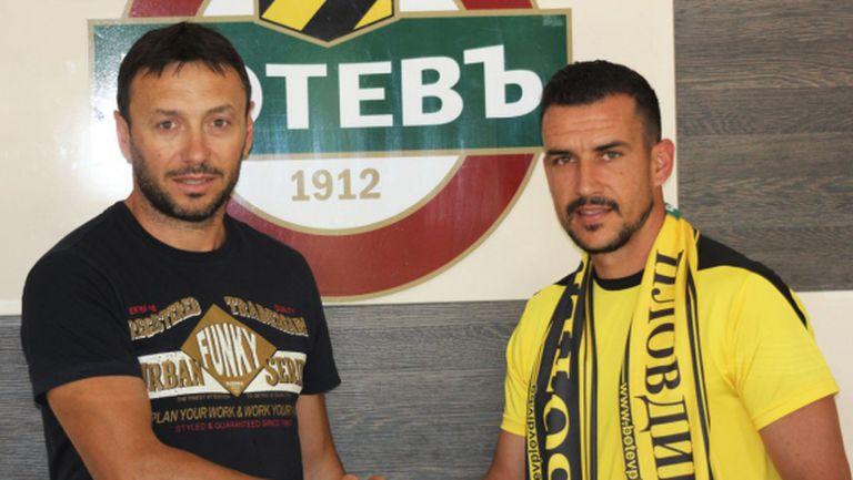 Иван Стоянов: Дано да вкарам още в първия мач