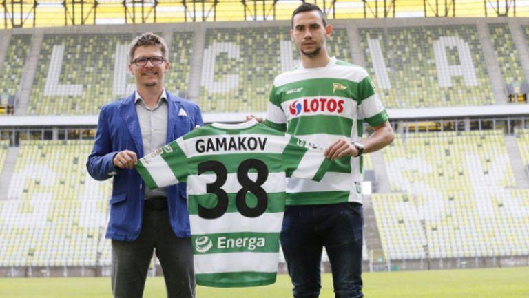 Милен Гамаков дебютира за Лехия с победа