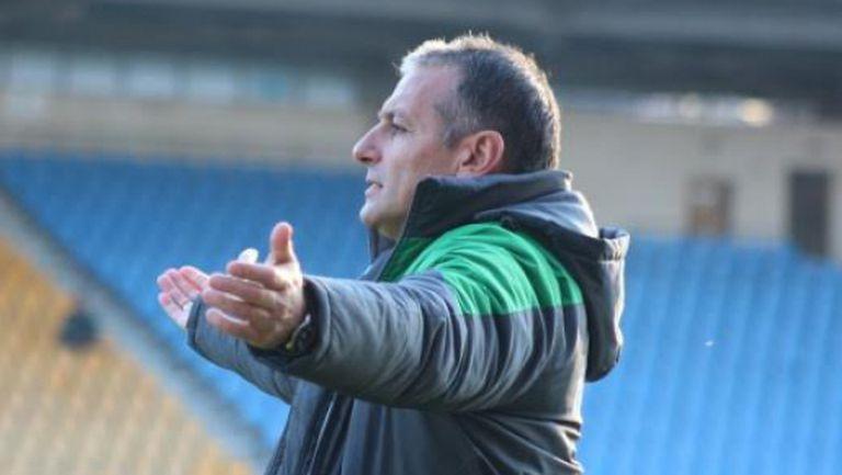 Димчо Ненов: Резултатът е реален с оглед на играта