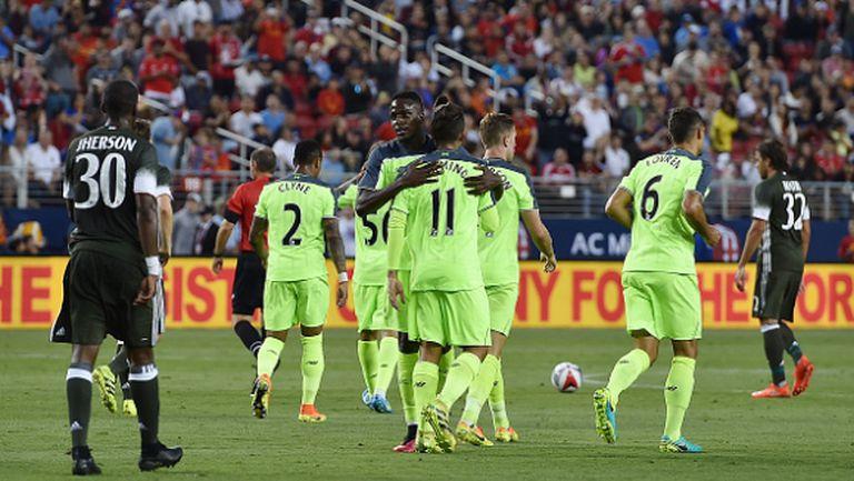 Ливърпул се оказа твърде силен за Милан (видео)