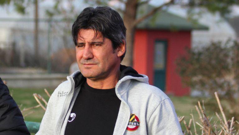 Костов: Напрежение при нас няма, защото не сме ние фаворитът в Разград