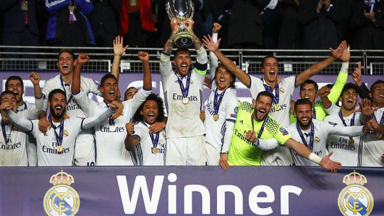 Двойна късна драма - Реал Мадрид е супершампион (видео+галерия)