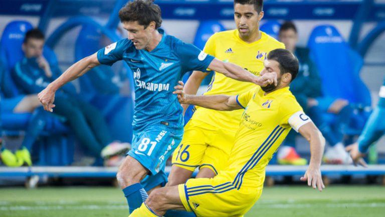 Обрат от 0:2 и първа победа за Луческу в Зенит (видео)