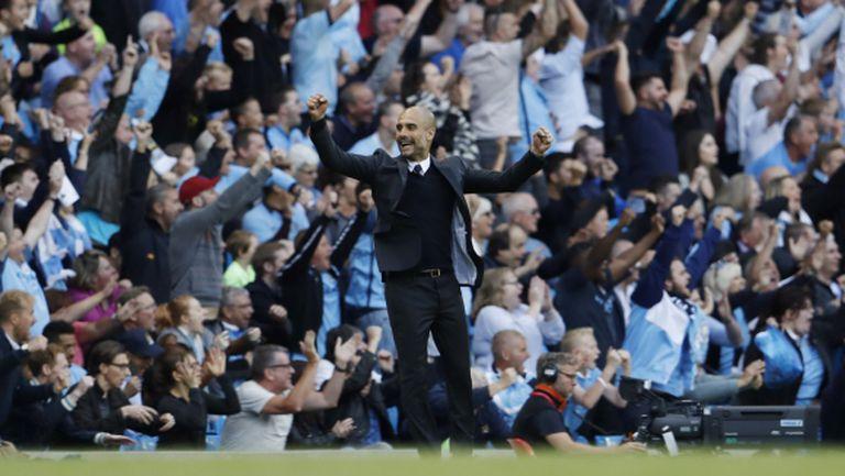 Кадър на Ман Юнайтед подари първа победа на Пеп Гуардиола в Премиър лийг (видео)