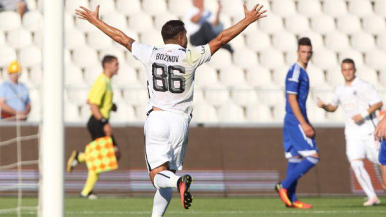 Божинов носи победата на Партизан с нов гол