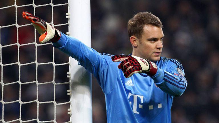 Нойер: Винаги искаш да печелиш срещу Дортмунд