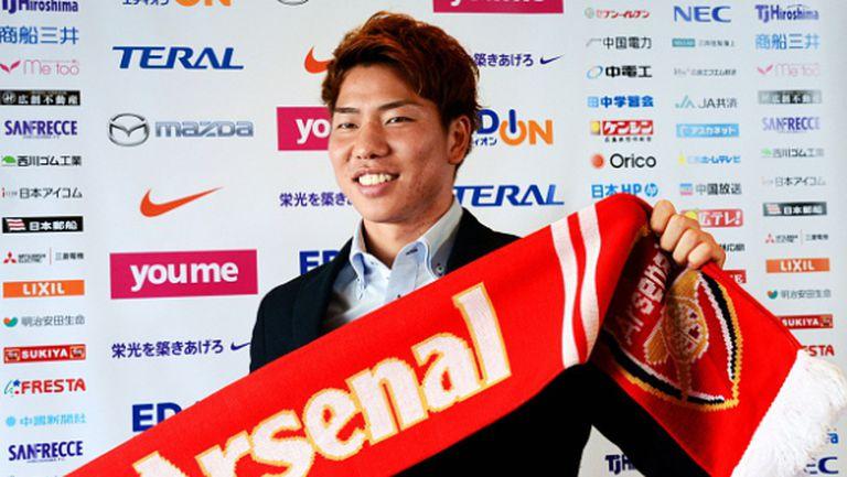Отказаха работна виза на японец от Арсенал