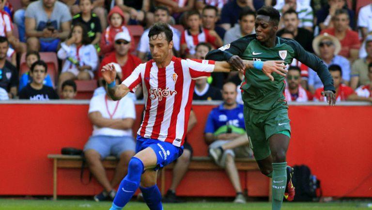 Атлетик Билбао загуби в Хихон, прекъснаха мача заради расизъм