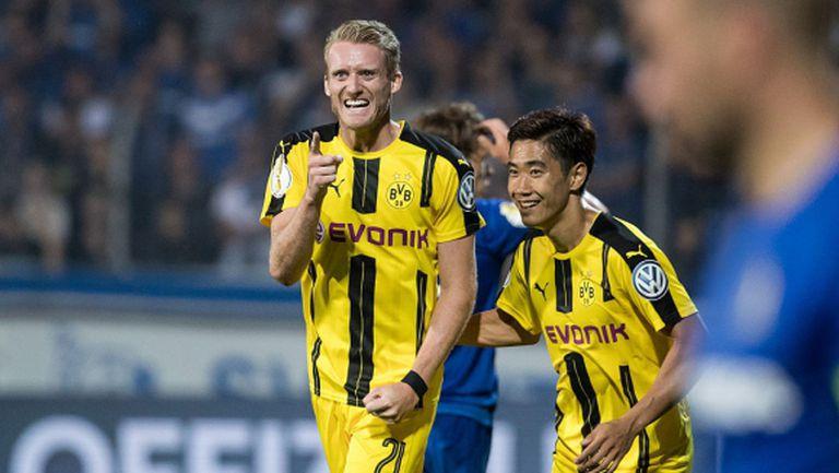Експресна победа за Дортмунд, Кагава и Шюрле над всички (видео)