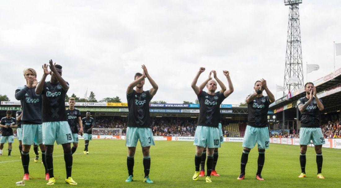 Убедителна победа за Аякс, засечка за ПСВ (видео)