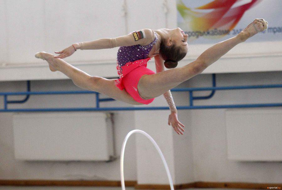 Контролно на националния отбор по художествена гимнастика