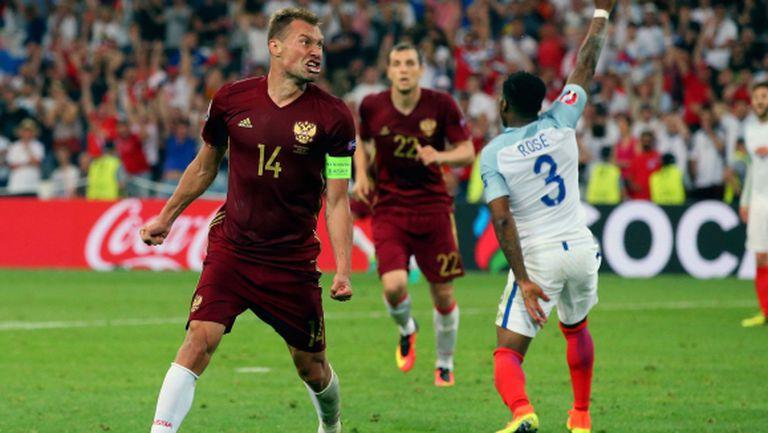 Василий Березуцки с капитанската лента на Русия в новите квалификации