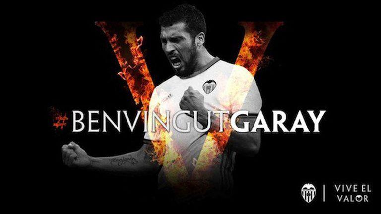 Валенсия взе Гарай за 20 млн.
