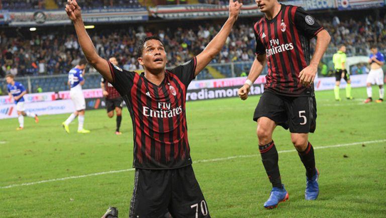 Бака и два отменени гола донесоха радост на Милан (видео)
