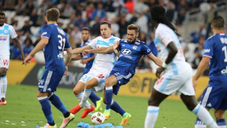 Лион изпусна победа в Марсилия