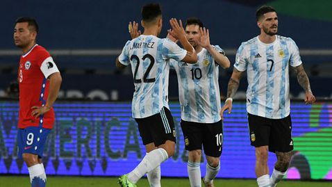 Меси подобри рекорд, но Аржентина не победи