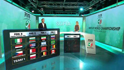 България излиза срещу Куба, Бахрейн и Полша на СП U21 в София! 🤩🏐💪