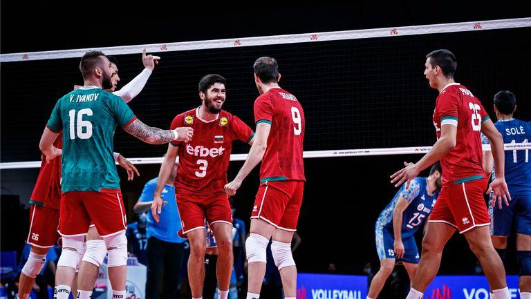 Лига на нациите: България - Аржентина 1:3  🏐