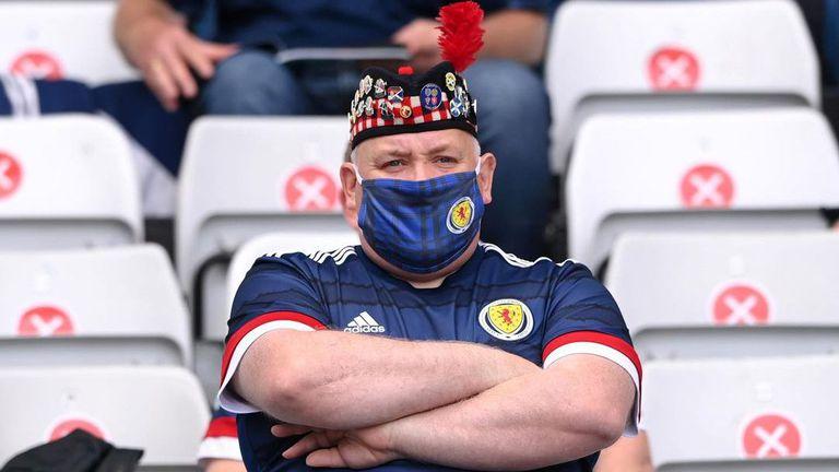 Това ли е най-запомнящият се привърженик на Шотландия